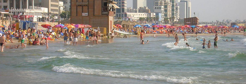 Homat Beach, Tel Aviv District, Israel