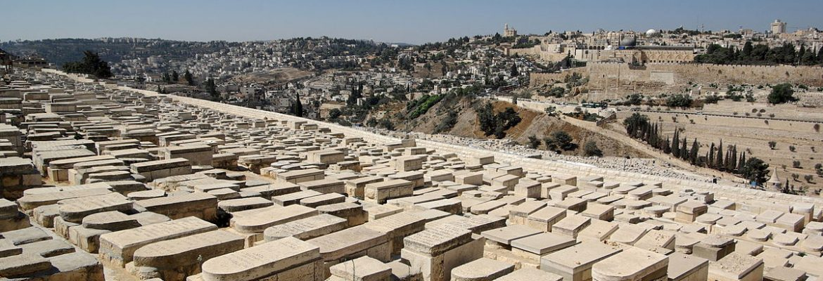 Mount of Olives Jerusalem Cemetery, Jerusalem, Israel