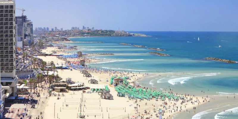 Metzizim Beach, Tel Aviv, District, Israel