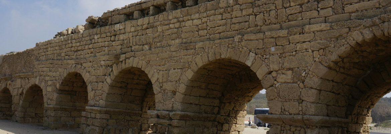 Aqueduct of Caesarea, Mei Kedem, Haifa District, Israel