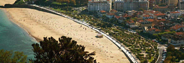 Playa de Ondarreta,Guipúzcoa, Spain