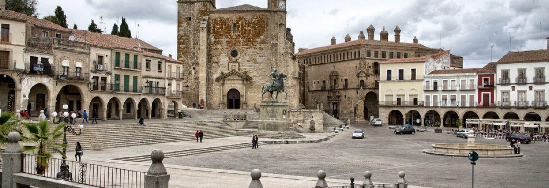 Plaza Mayor Trujillo,Cáceres, Spain