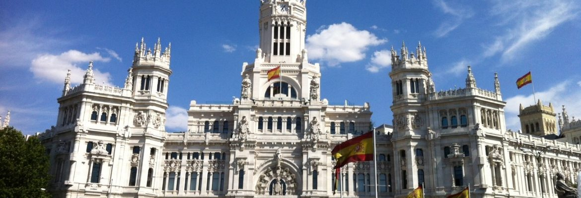 Cibeles Palace, Madrid, Spain