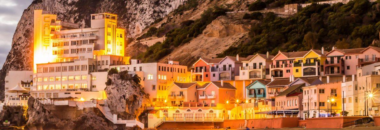 Catalan Bay Beach, Gibraltar