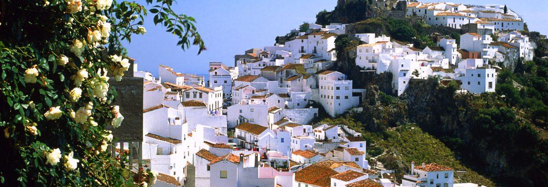 Casares White Village,Málaga, Spain