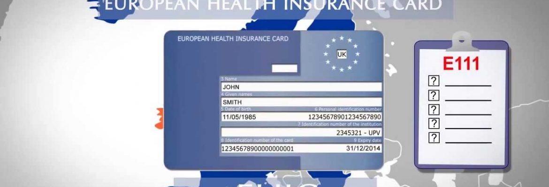 Application for EU Health Insurance Cards