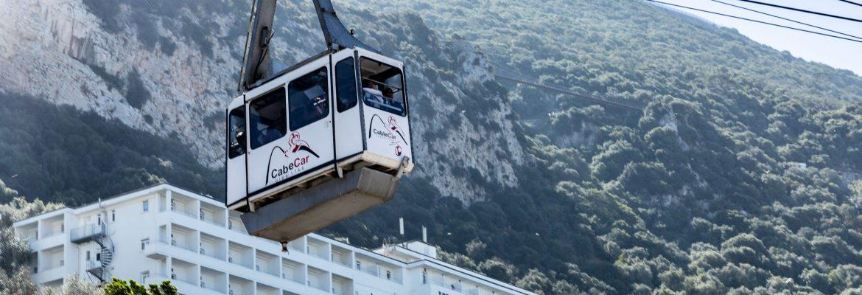 Cable Car Base Station, Gibraltar
