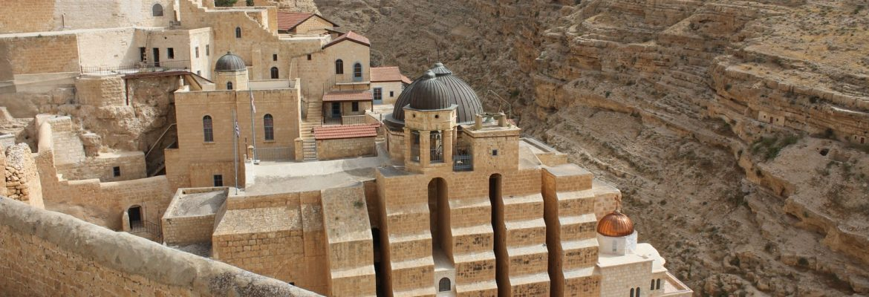 Mar Saba Monastery, West Bank, Israel