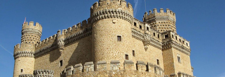 Castillo Viejo de Manzanares el Real, Madrid, Spain