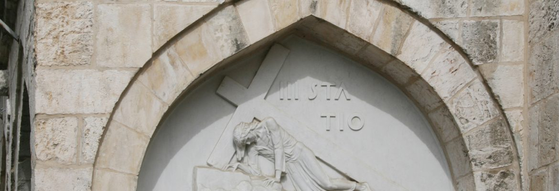Via Dolorosa, Way of the Cross, Jerusalem, Israel