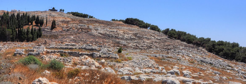Mt Gerizim, Samaritan, West Bank, Israel