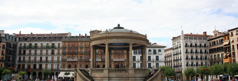 Plaza del Castillo,Pamplona, Navarra, Spain