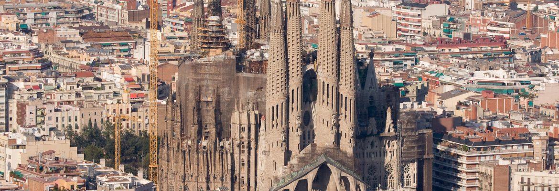 La Sagrada Familia,Barcelona, Spain