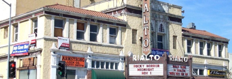 Rialto Theatre,South Pasadena, California, USA