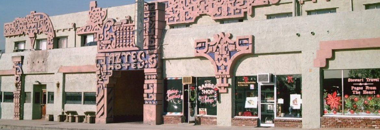 Aztec Hotel, Monrovia, California, USA