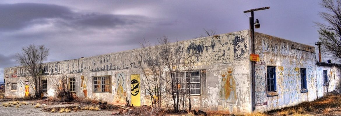 Bowlin's Old Crater Trading Post, Bluewater, New Mexico, USA