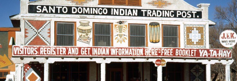Pueblo of Santo Domingo (Kewa Pueblo), Santo Domingo, New Mexico, USA