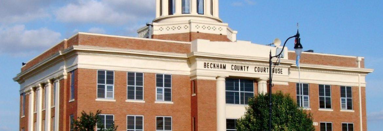Beckham County Courthouse, Sayre, Oklahoma, USA
