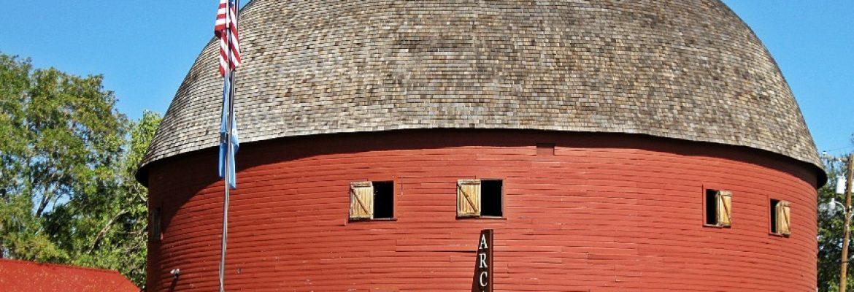 Arcadia Round Barn, Arcadia, Oklahoma, USA