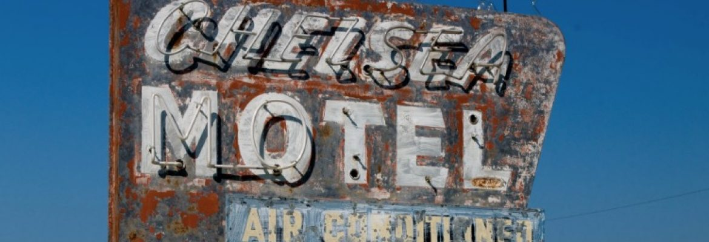 Chelsea Motel, Chelsea, Oklahoma, USA