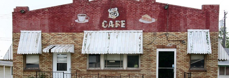 Belvidere Café, Motel, and Gas Station, Litchfield, Illinois, USA