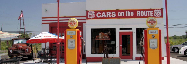 Kan-O-Tex Service Station, Galena, USA