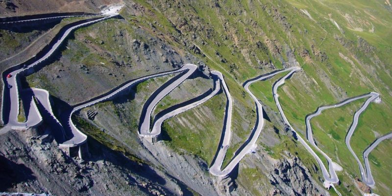 Stelvio Pass Sondrio, Italy