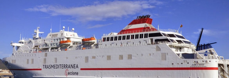 Malaga Spain   Mellila Spain Ferry Crossing
