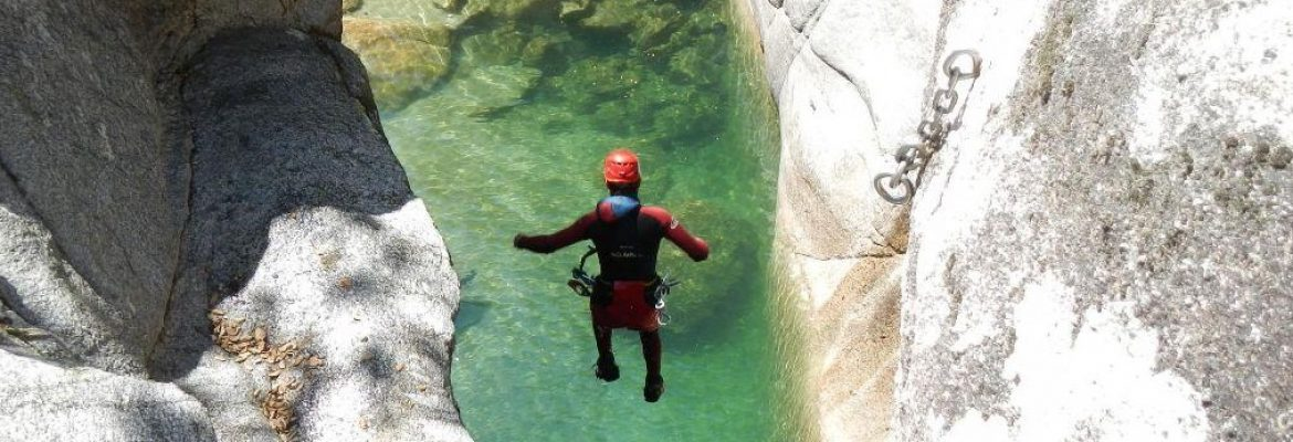 Canyoning, Vivak Nature, La Zubia, Spain