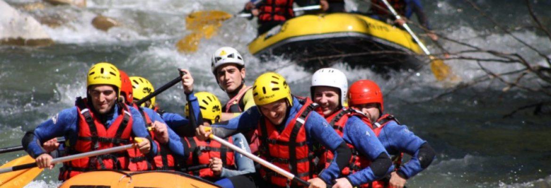 Rafting, Río Anzur, El Tejar, Córdoba