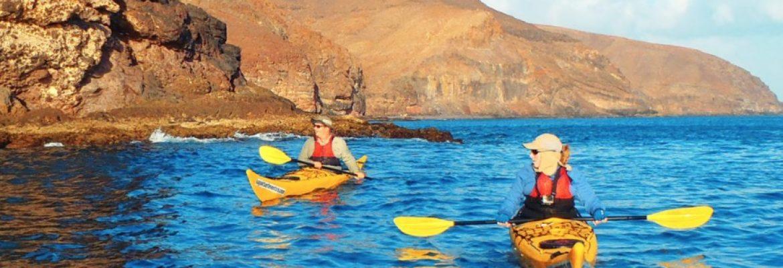 Sea Kayaking, Níjar, Almería, Spain