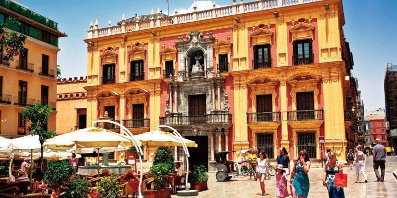 Malaga Old Town, Spain