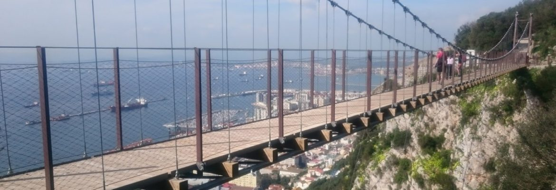 Windsor Suspension Bridge,Gibraltar