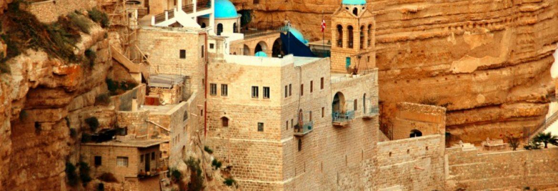 Mount of Temptation Monastery, Jericho, West Bank, Israel