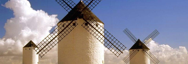 Windmills of Consuegra,Toledo, Spain