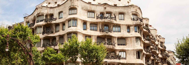 Casa Milà, Unesco Site, Barcelona, Spain