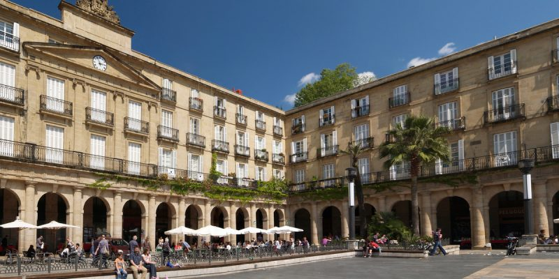 Casco Viejo, Old Town,Bilbao, Biscay, Spain