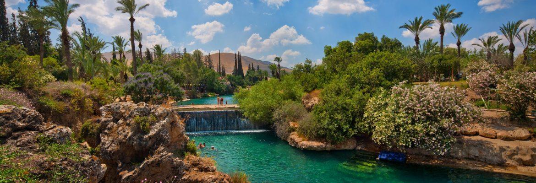 Gan HaShlosha National Park, Beit She'an, Northern District, Israel