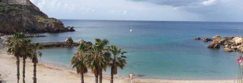 Playa Cala Cortina,Cartagena, Murcia, Spain