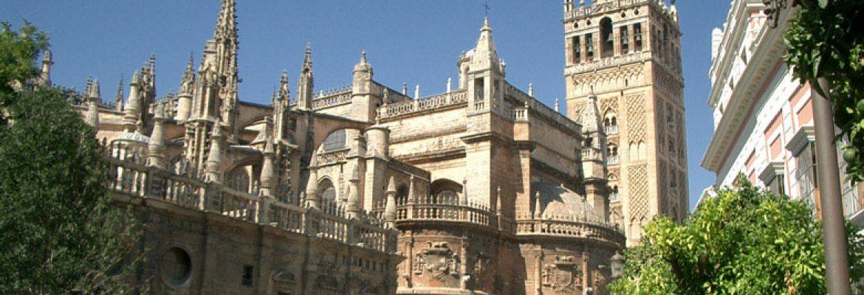 The Giralda Minaret, Unesco Site, Seville, Spain