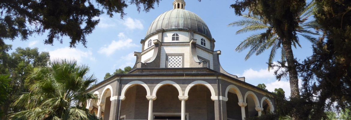 Church of Mount of Beatitudes, Tiberias, Northern District, Israel
