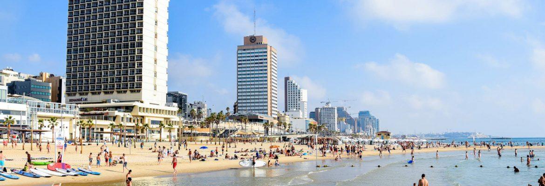 Gordon Beach, Tel Aviv, District, Israel