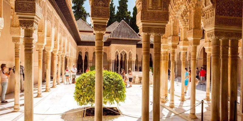 Alhambra, Unesco Site, Granada, Spain