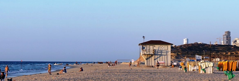 Poleg Beach, Netanya, Central District, Israel