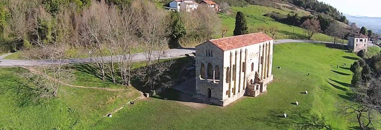 Santa María del Naranco. Prerrománico asturiano, Oviedo, Asturias, Spain