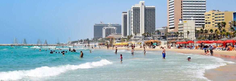 Bugrashov Beach, Tel Aviv, District, Israel
