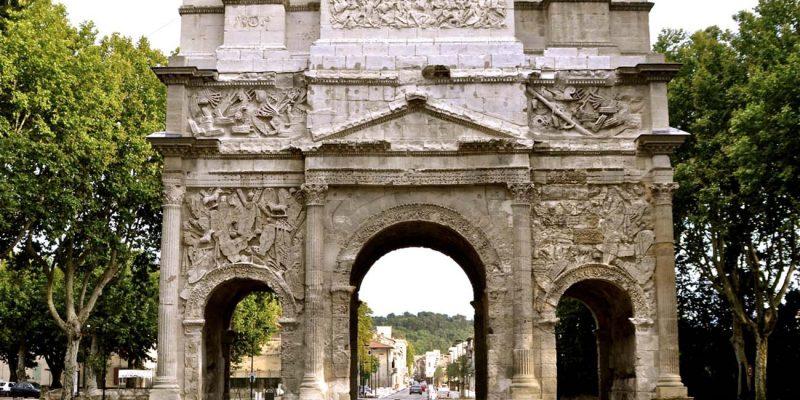 Arc de triomphe d'Orange, Rhone Valley, France