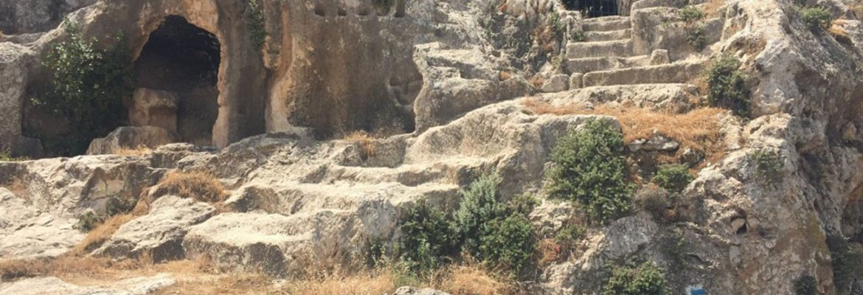 Jerusalem Walls, City of David National Park, Jerusalem, Israel