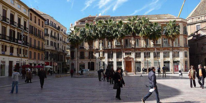 Old Town, Malaga, Spain