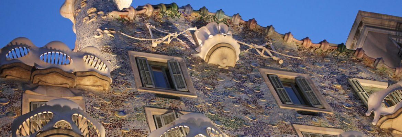 Works of Antoni Gaudí, Unesco Site, Barcelona, Spain